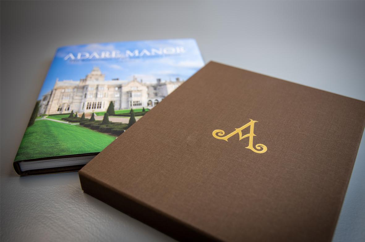 Book Printing Ireland Adare Manor Example